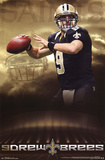 Drew Brees New Orleans Saints NFL Sports Poster Prints