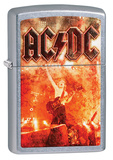ACDC Flames Street Chrome Zippo Lighter Lighter