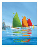 Cape Cod Sail Art by Sally Caldwell Fisher
