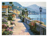 Bellagio Promenade Posters by Howard Behrens