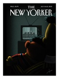 Moment of Joy - The New Yorker Cover, July 8, 2013 Regular Giclee Print by Jack Hunter