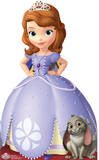 Sofia the First - Disney Princess Lifesize Standup Cardboard Cutouts
