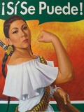 Rosita (¡Sí Se Puede!) Posters by Robert Valadez