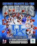 University of Kentucky Wildcats All Time Greats Composite Photographie