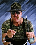 Sgt. Slaughter Posed Photo
