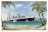 Caribbean Collectable Print by David Brackman
