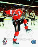 Patrick Kane celebrates his second goal Game 5 of the 2013 Stanley Cup Finals Photo
