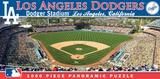 Los Angeles Dodgers 1000 Piece Panoramic Puzzle Jigsaw Puzzle