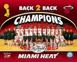 Miami Heat 2013 NBA Champions Team Photo Photo