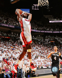LeBron James Game 2 of the 2013 NBA Finals Action Photo