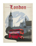 Londres Posters par  Anderson Design Group