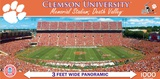 Clemson Tigers 1000 Piece Panoramic Puzzle Jigsaw Puzzle