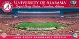 Alabama Crimson Tide 1000 Piece Panoramic Puzzle Jigsaw Puzzle