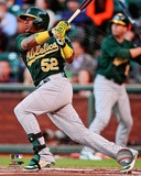 Yoenis Cespedes 2013 Action Photo