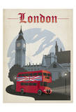Londres Posters por Anderson Design Group