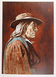 Portrait of an American Indian Man Limited Edition by John Shemitt Houser
