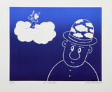 Hi! Cloudius Collectable Print by Jean Sariano