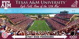 Texas AM Aggies 1000 Piece Panoramic Puzzle Jigsaw Puzzle