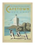Ciudad del Cabo, Sudáfrica Lámina por  Anderson Design Group