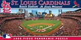 St Louis Cardinals 1000 Piece Panoramic Puzzle Jigsaw Puzzle