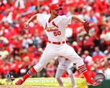 Adam Wainwright 2013 Action Photo