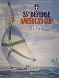 America's Cup Posters by David Lockhart