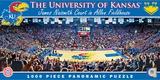 Kansas Jayhawks 1000 Piece Panoramic Puzzle Jigsaw Puzzle