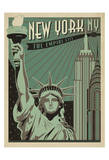 New York, NY: The Empire City Prints by  Anderson Design Group
