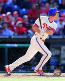 Chase Utley 2013 Action Photo