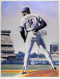 The Sign (New York Mets Dwight Gooden) Poster by Jack Lane