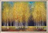Gylden lund Plakater af Melissa Graves-Brown