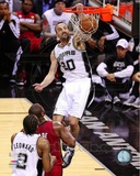 Manu Ginobili Game 3 of the 2013 NBA Finals Action Photo