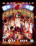 Miami Heat 2013 NBA Champions Composite Photo