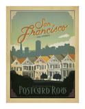 Anderson Design Group - San Francisco, California: Postcard Row - Art Print