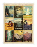 National Parks: The Art & Soul Of America Kunst av  Anderson Design Group