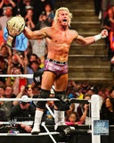 Dolph Ziggler with the World Heavyweight Championship Belt 2013 Photo