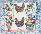 Chickens Limited Edition by Margaret Israel