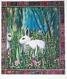 Rabbit Collectable Print by Susan Gardner