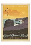 Tour The Majestic Great Ocean Road, Australia Stampa di  Anderson Design Group