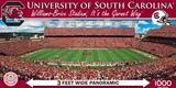 South Carolina Gamecocks 1000 Piece Panoramic Puzzle Jigsaw Puzzle