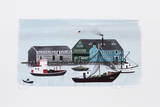 Provincetown Harbor Limited Edition by Mary Faulconer