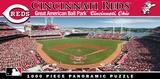 Cincinnati Reds 1000 Piece Panoramic Puzzle Jigsaw Puzzle