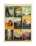 National Parks: The Art & Soul Of America Posters por Anderson Design Group