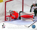 Corey Crawford 2012-13 Playoff Action Photo
