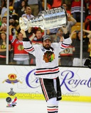 Patrick Sharp with the Stanley Cup Game 6 of the 2013 Stanley Cup Finals Photo