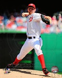 Stephen Strasburg 2013 Action Photo