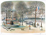 Paris-02 Collectable Print by Rolf Rafflewski