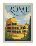 Rome, Italy Posters by  Anderson Design Group