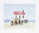 Sag Harbor Antique Shop Limited Edition by Mary Faulconer