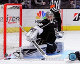 Jonathan Quick 2012-13 Playoff Action Photo